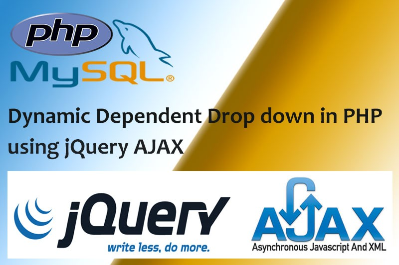 Dynamic Dependent Drop down in PHP using jQuery AJAX2