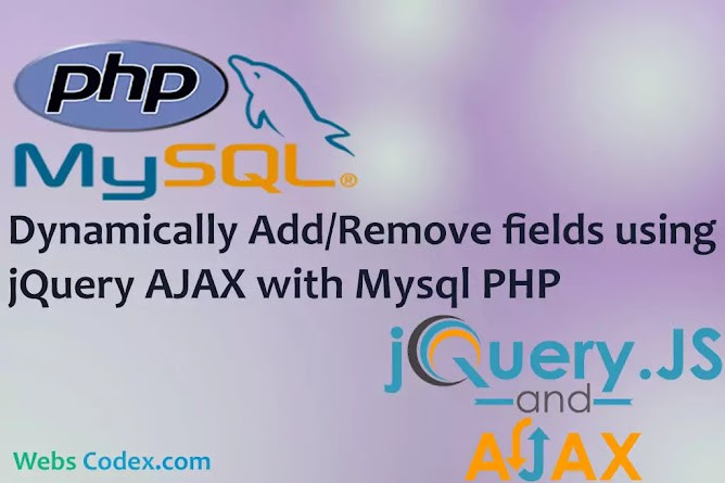 Read more about the article Dynamically Add / Remove input fields in PHP with Jquery Ajax