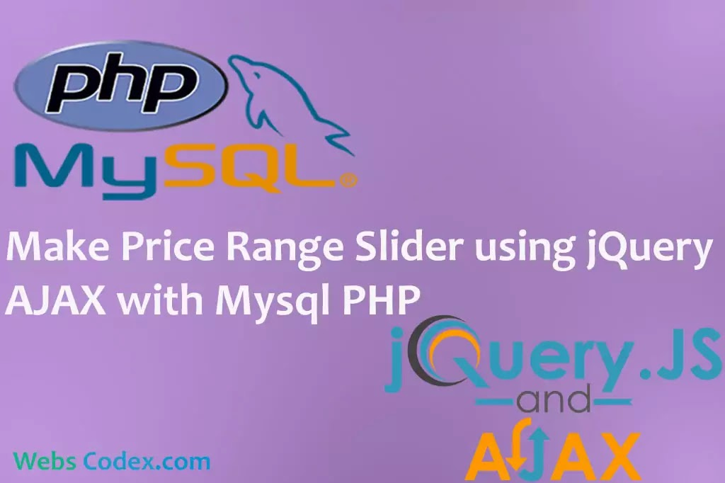 Read more about the article Filter or Search Record with range Slider using jQuery AJAX with PHP Mysql